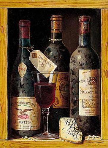 Натюрморт с вином, оригинал