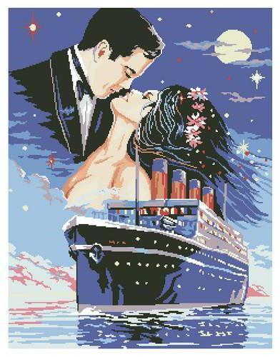 """Титаник"", оригинал. """