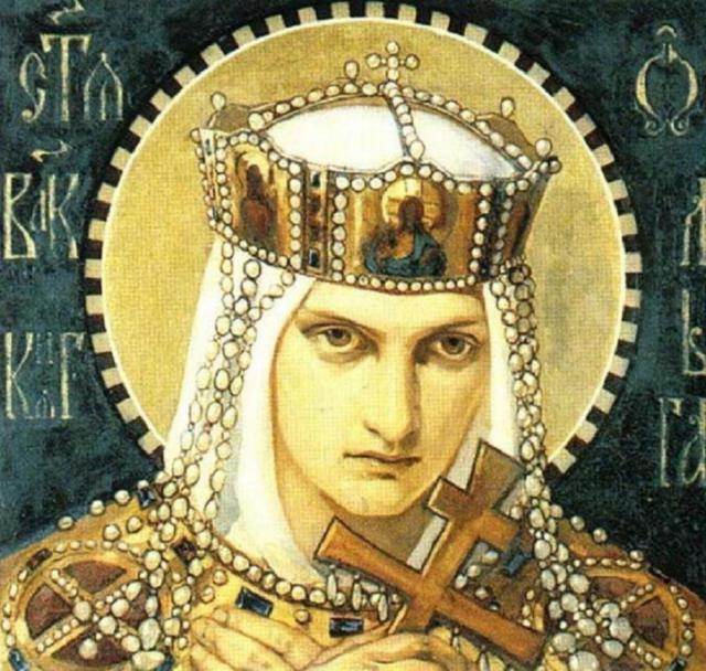 Святая Ольга, религия, икона