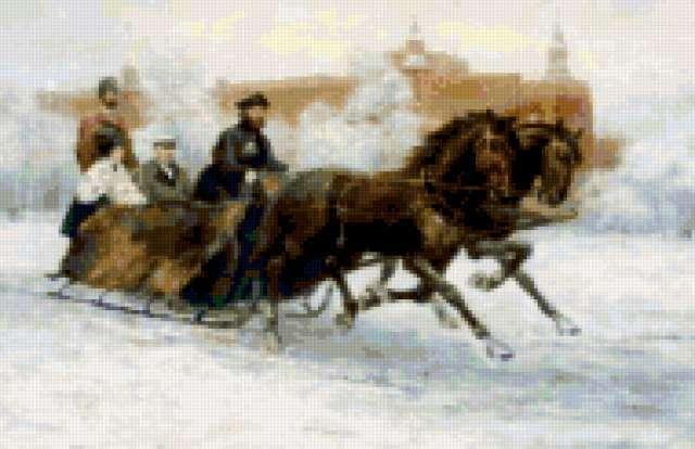 Зимняя прогулка, предпросмотр