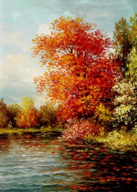 Осень золотая, оригинал