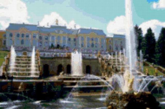 Вид на Большой дворец,