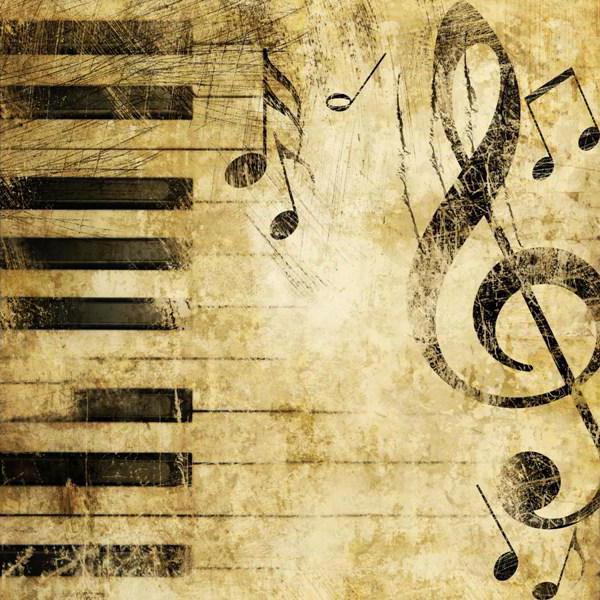 ноты, скрипичный ключ