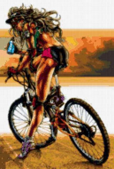 Велосипедистки секси