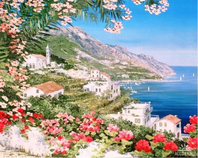 Панорама цветы