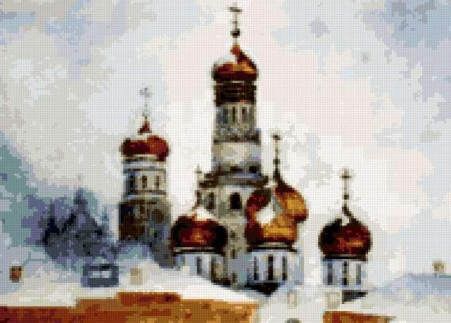 церковь зимой вышевка крестом схема