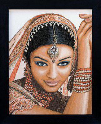 К схеме вышивки «Индийская