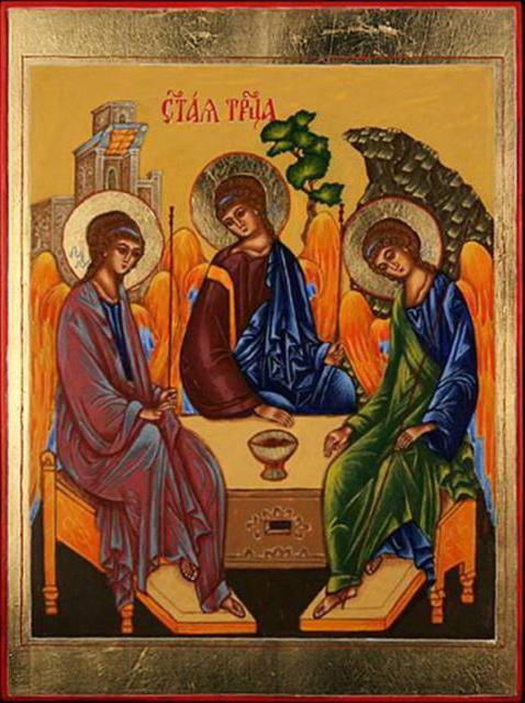 Пресвятая Троица, оригинал