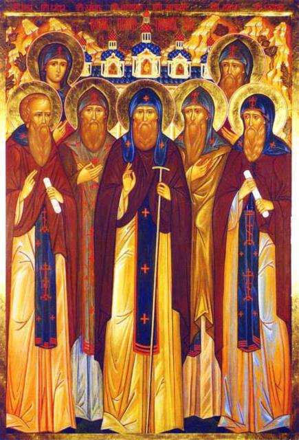 Святые иноки, православие