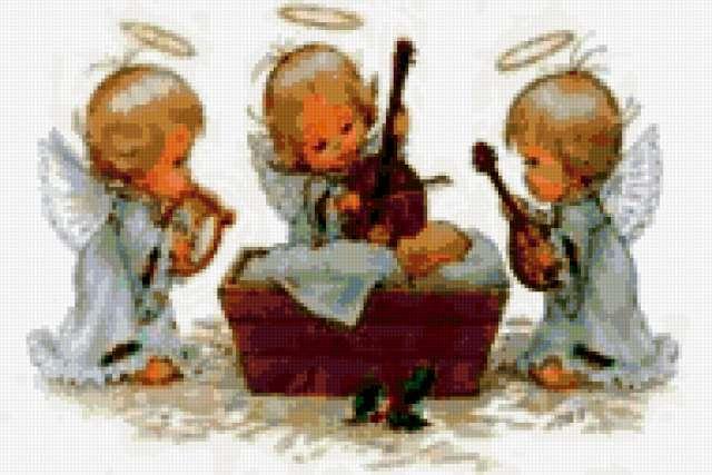 Ангелы и музыка, ангелы,