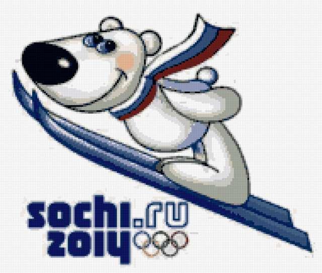 Талисман Сочи 2014 - медведь,