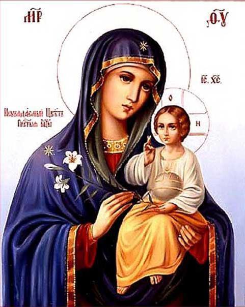 Икона Божией Матери, оригинал