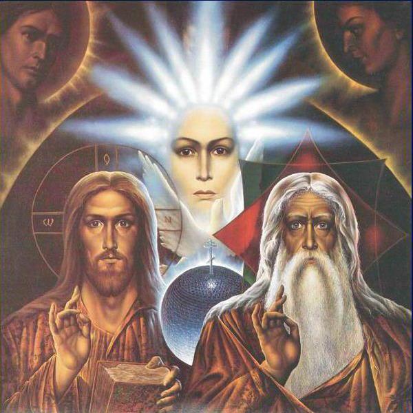Св. Троица, оригинал