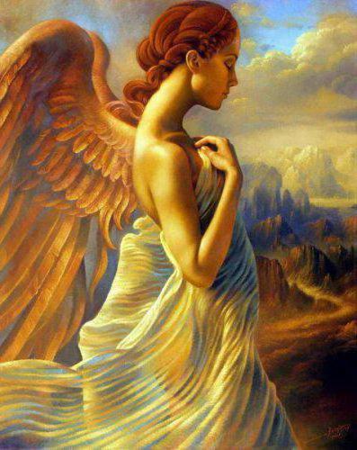 девушка ангел, оригинал