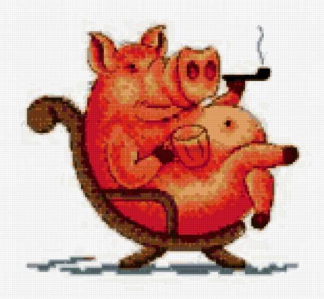 Боров, свинки, свинка, свинья,