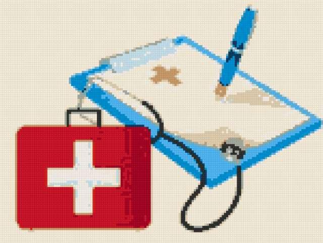 Вышивки крестом медицина
