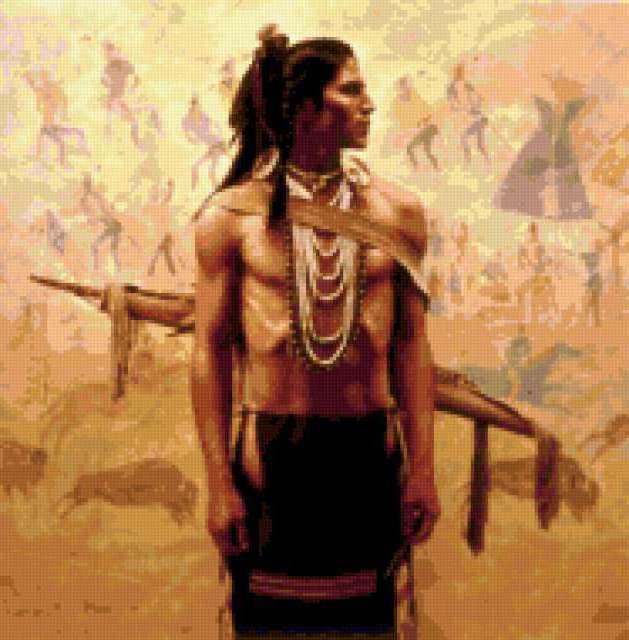 Индеец, предпросмотр
