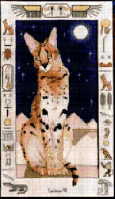 Египетская кошка, предпросмотр