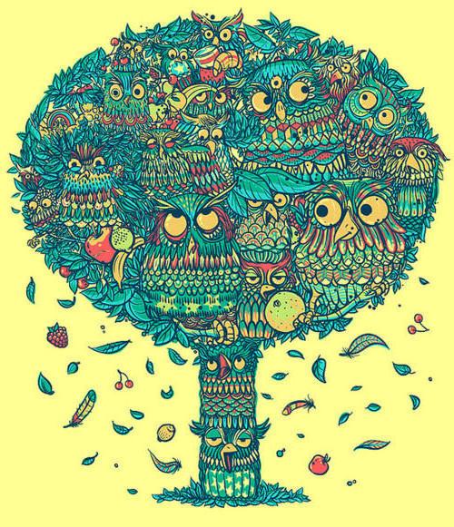 Совиное дерево, оригинал