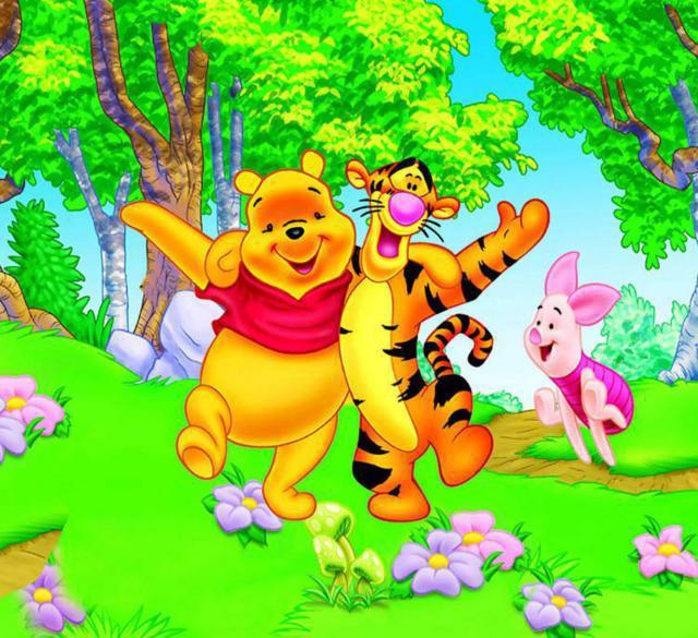 Винни-Пух, Тигра и Пятачок,