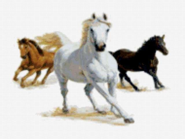 Бегущие кони, предпросмотр