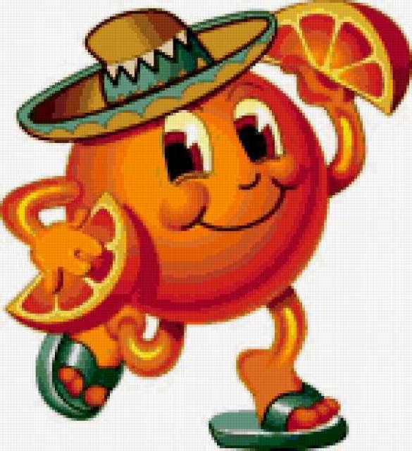 Веселый Апельсин, предпросмотр