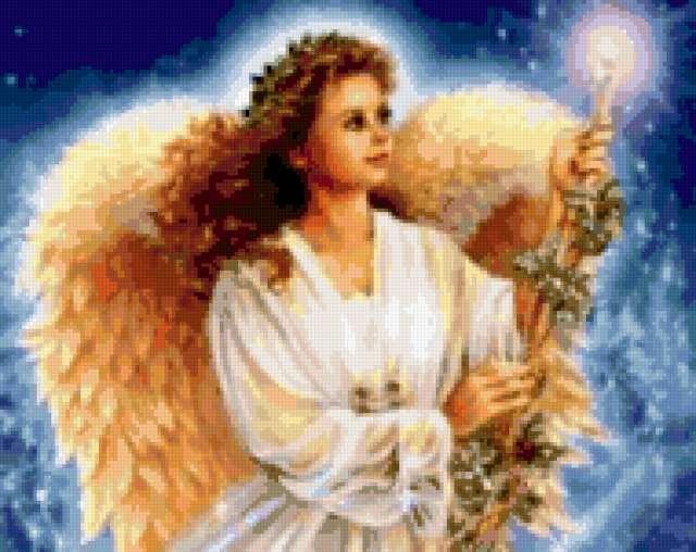 девушка ангел, предпросмотр