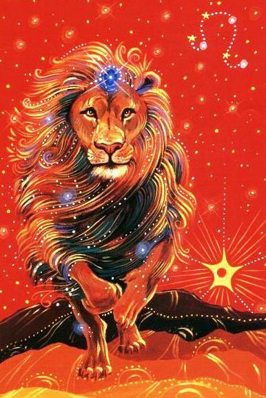 Знак зодиака - лев, оригинал