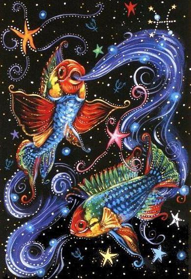 Знак зодиака - рыбы, зодиак,