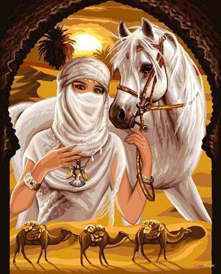 Принцесса пустыни, оригинал