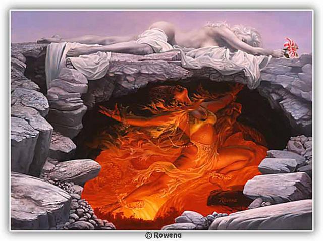 Лед и пламя, оригинал
