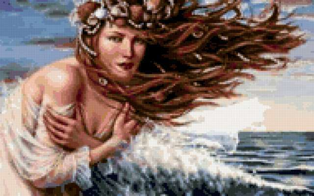 Морская нимфа, предпросмотр
