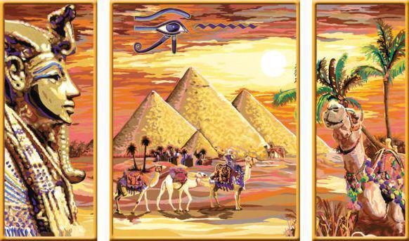 Египет(триптих), картина
