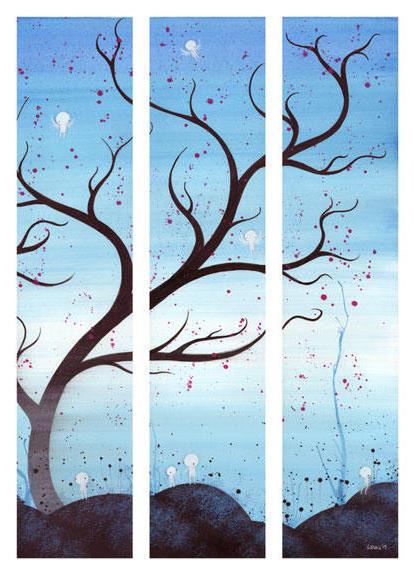 Триптих-дерево, оригинал