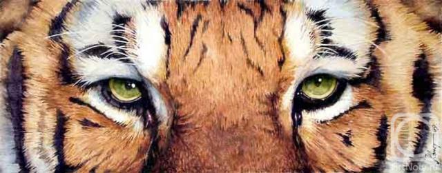 Схема вышивки «Glaza tigra»