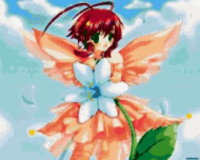 Цветочная фея, предпросмотр