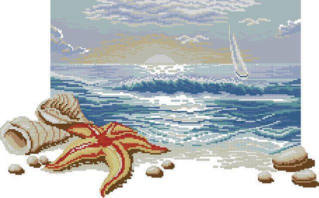 Морская тематика, оригинал