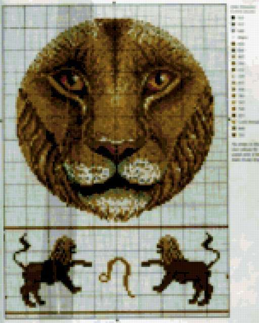 Знаки зодиака. Лев