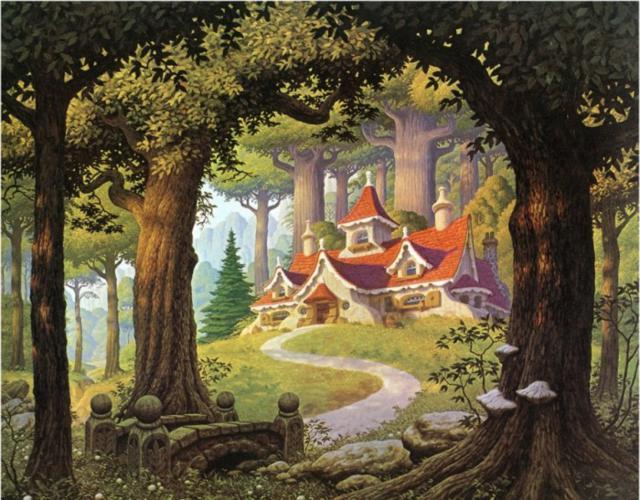 Сказочный домик, сказка, домик