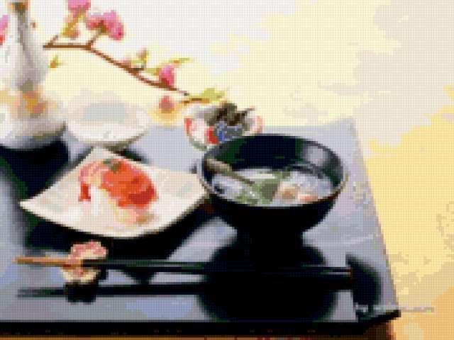 Японская посуда, предпросмотр