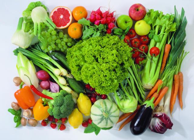 Фрукты и овощи, натюрморт,