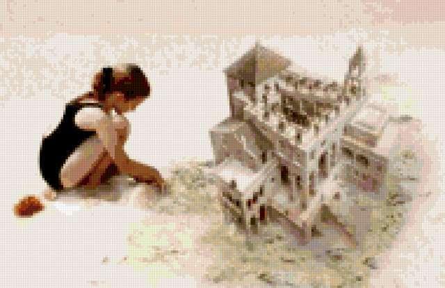 Замок из песка, предпросмотр