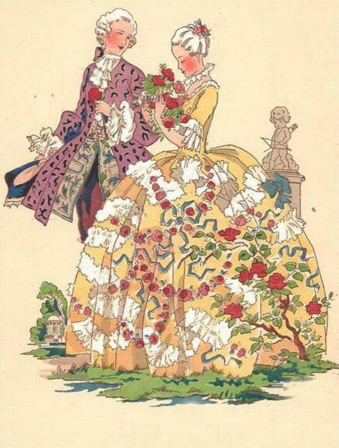 Серия: ретро-открытки, девушка