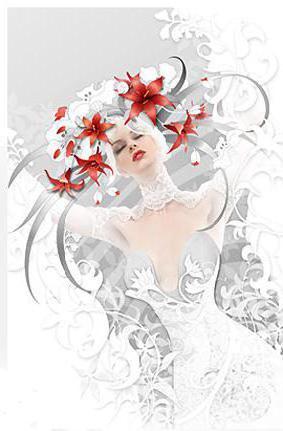 Свадебное платье, девушка