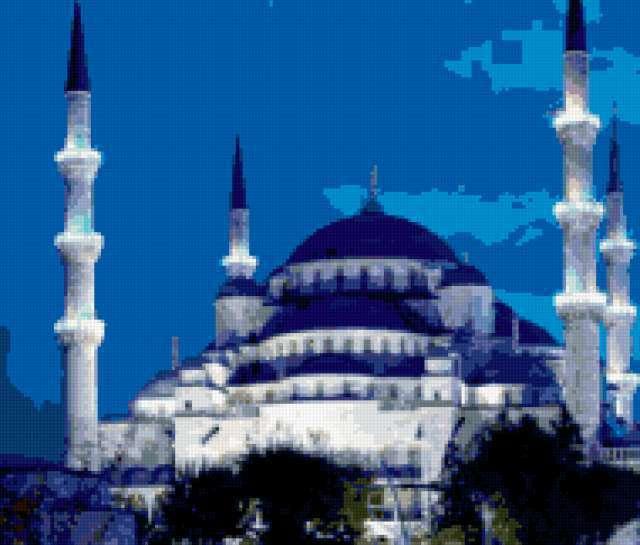 Голубая мечеть,