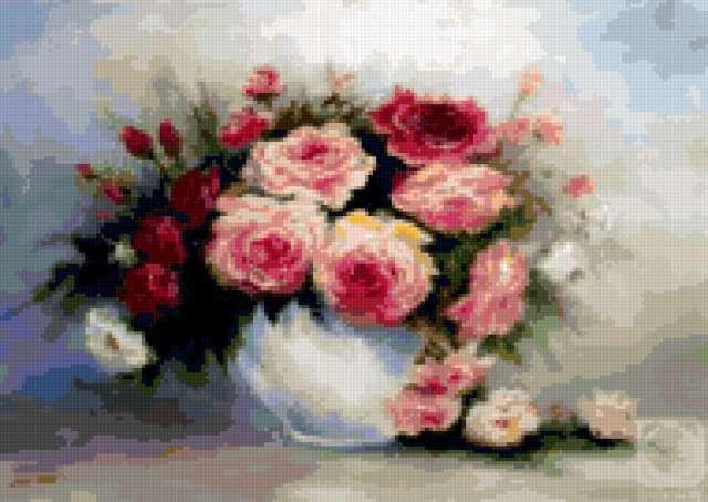 Грохотова Светлана.Чайные розы