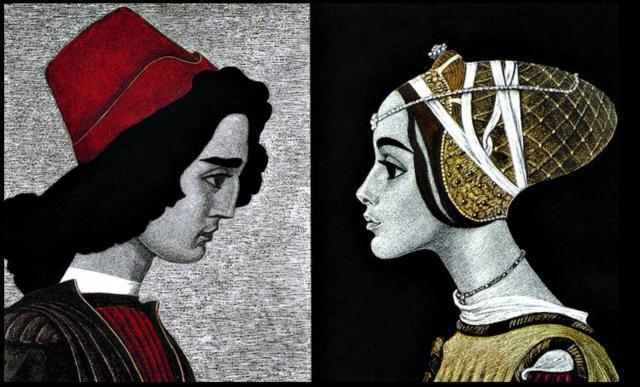 Иллюстрации: Ромео и Джульетта