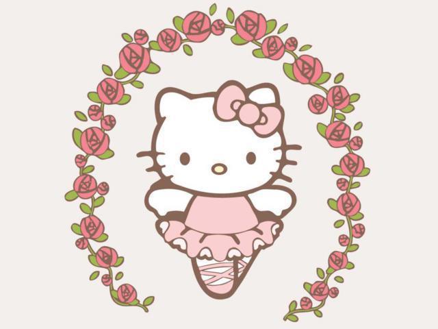 Hello Kitty flowers, оригинал