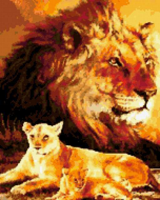 Дух льва, предпросмотр