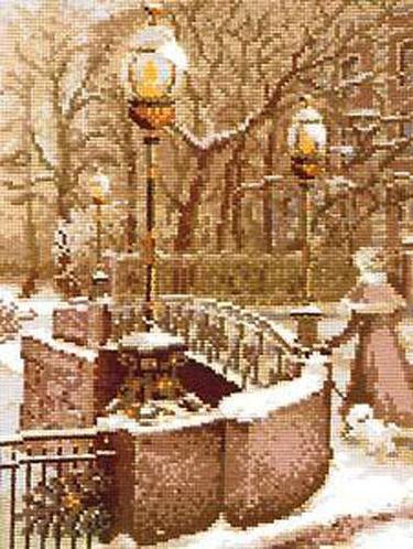 Зима фонари, оригинал